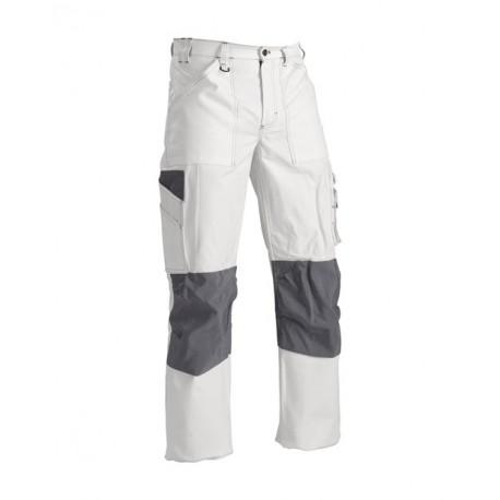 Pantalon Peintre et Plâtrier Blanc