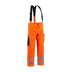 Pantalon de pluie tissu lourd Orange