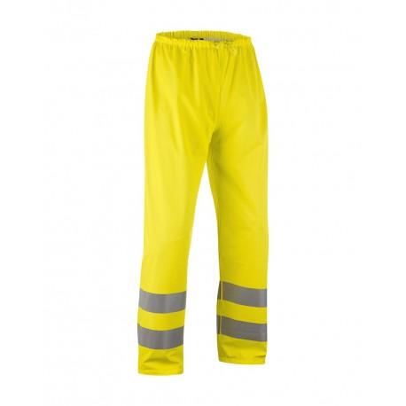 Pantalon de pluie haute-visibilite Jaune