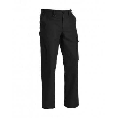 Pantalon Cargo Multipoches 1400 Noir tissu épais