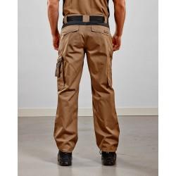 Pantalon Industrie Beige/Noir