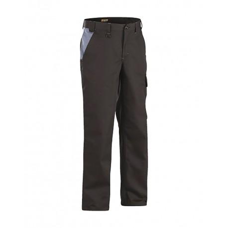 Pantalon Industrie Noir/Gris