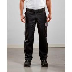 Pantalon Profil Noir/Gris