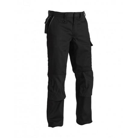 Pantalon Artisan poches italiennes Noir/Gris
