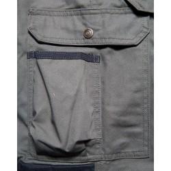 Pantalon paysagiste Kaki/Noir
