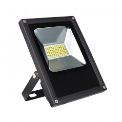 Projecteur LED 30W  Slim  3000K  IP65